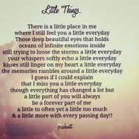 Little Things!